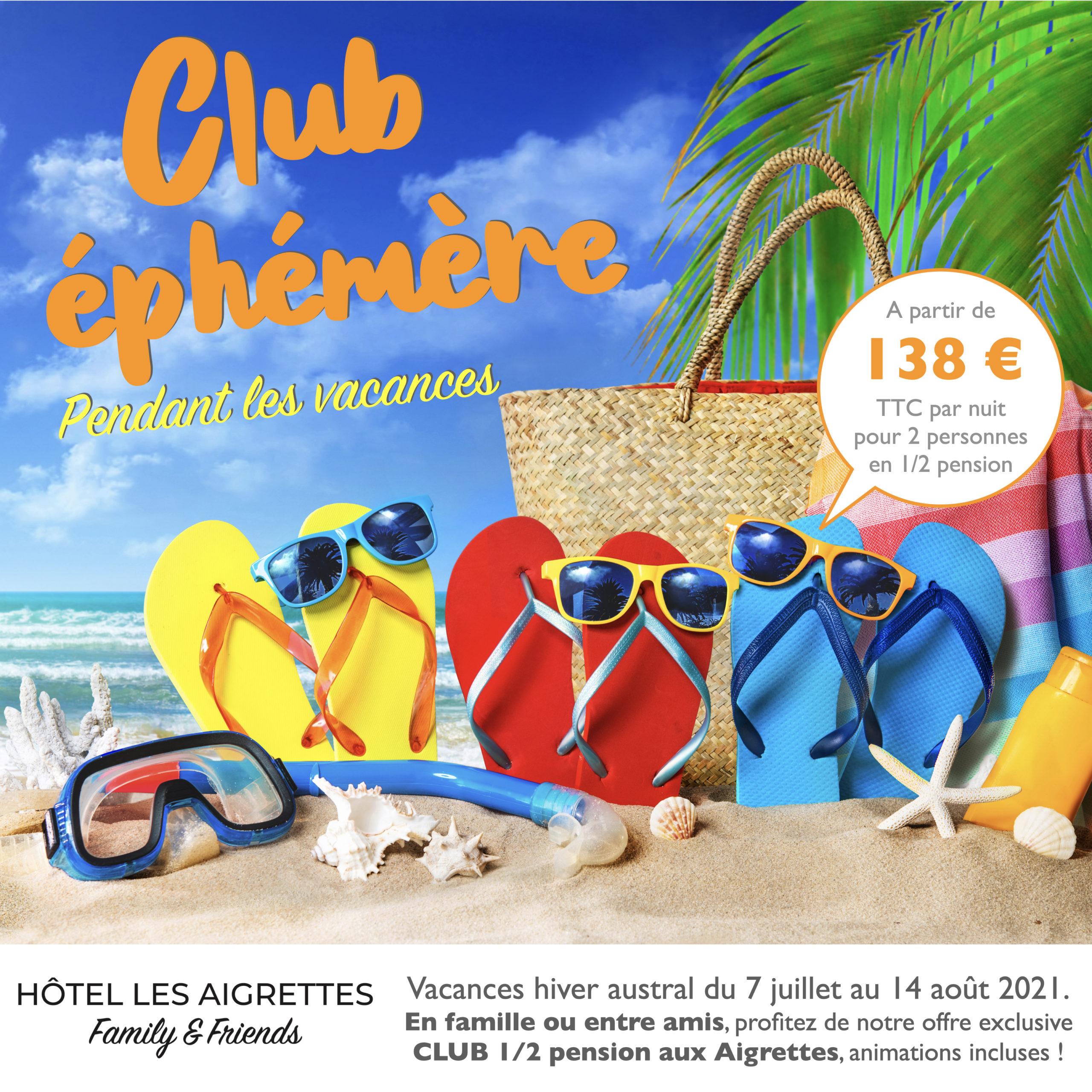 Hôtel Les Aigrettes 2* - Saint-Gilles-Les-Bains